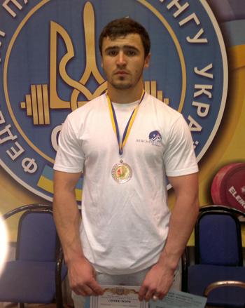 Ужгородський силач став майстром спорту України