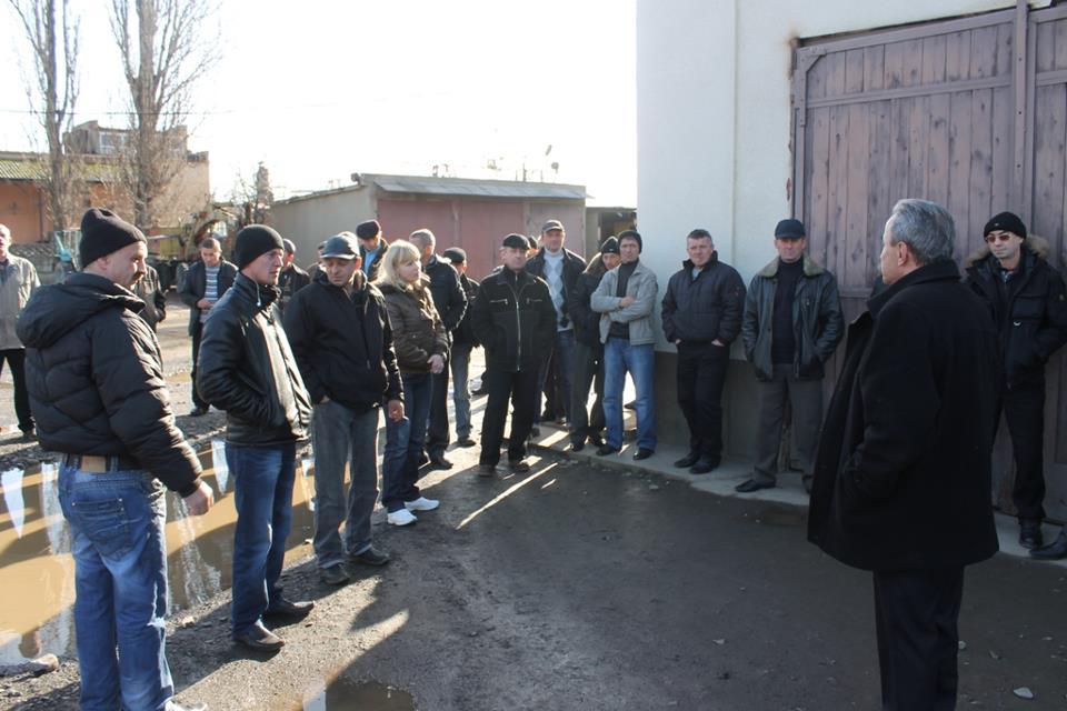 Мукачівський водоканал страйкує (Фоторепортаж)