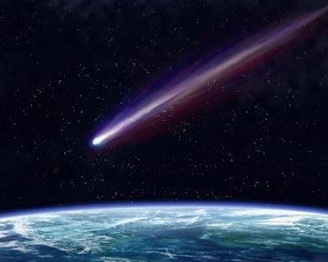 На Закарпаття також падають метеорити