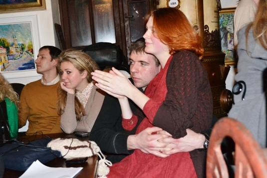 Ужгородська молодь провела літературний вечір