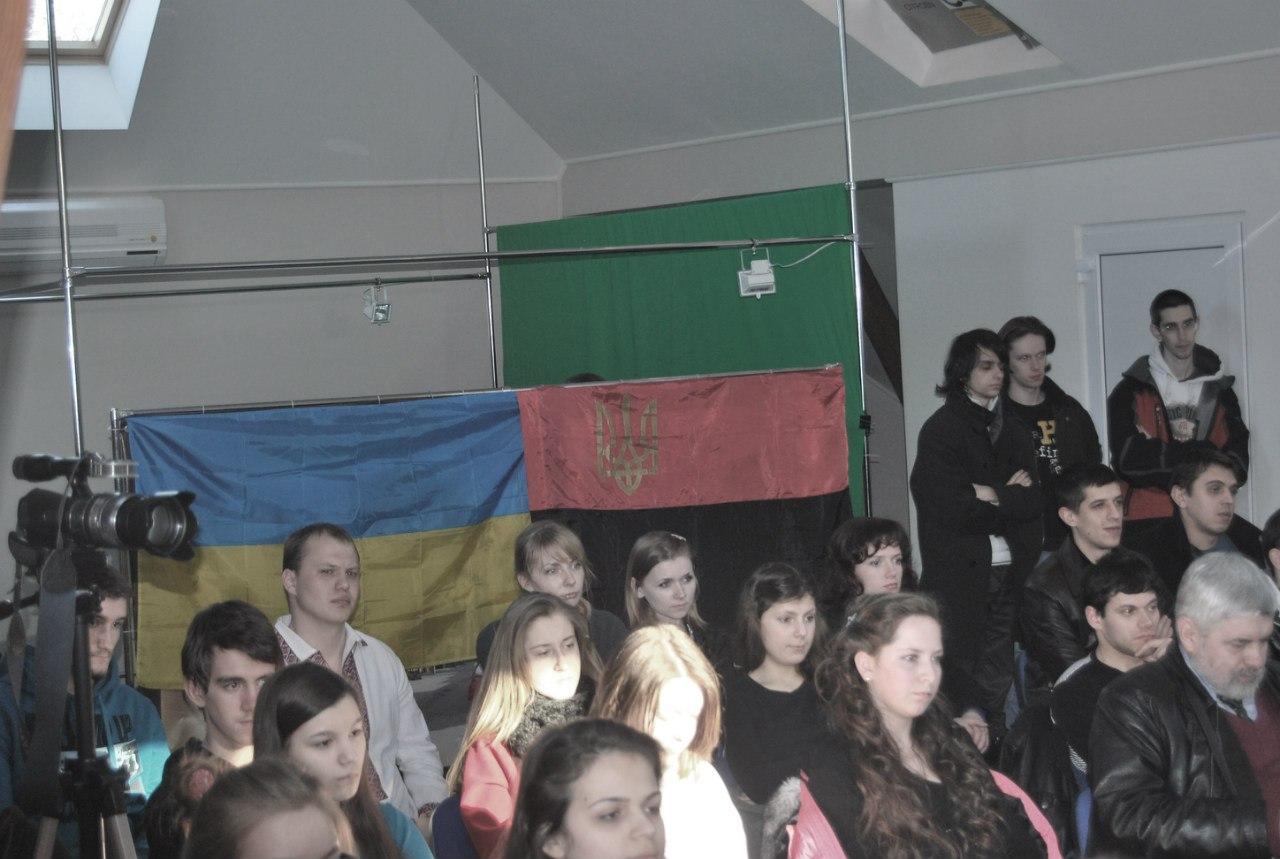 Закарпатські націоналісти провели Літературний вечір