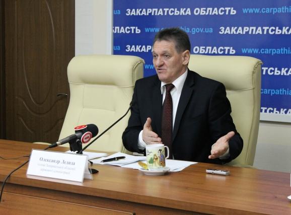 Голова Закарпатської ОДА Олександр Ледида прокоментував результати  виборів до Закарпатської облради
