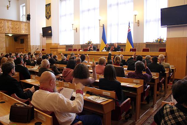 Федора Харуту обрано Головою Громадської ради при Закарпатській ОДА