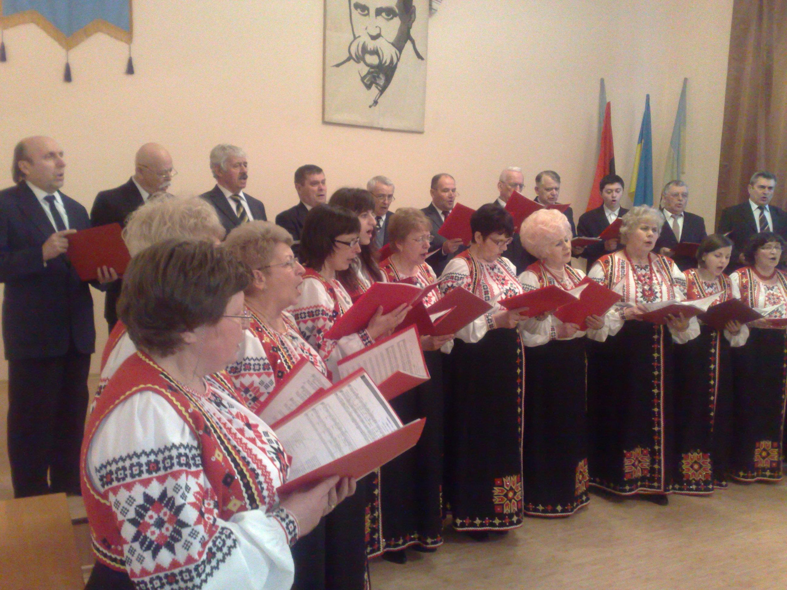 Шевченкове свято в Народному Домі «Просвіти»