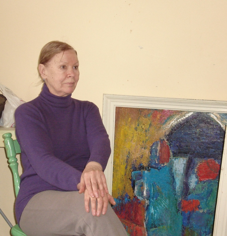 ГОЛІ «ПОПИ» НА ТЛІ ЄВРОПИ…І взагалі про живопис Лариси БРОВДІ — «ткалі» великих образотворчих узагальнень