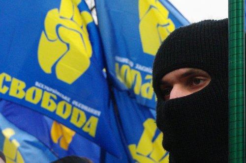 """""""Свобода"""" завдала удару у відповідь по угорському """"Йоббіку"""""""