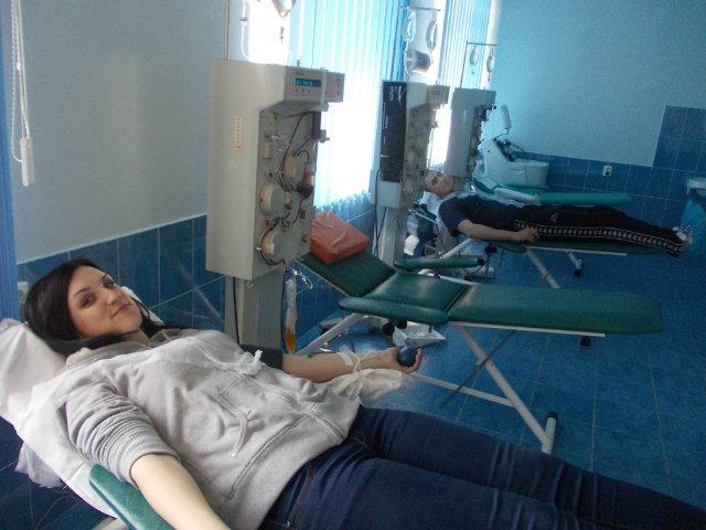 """""""Карпатська Січ"""" вдруге провела акцію зі здачі донорської крові"""