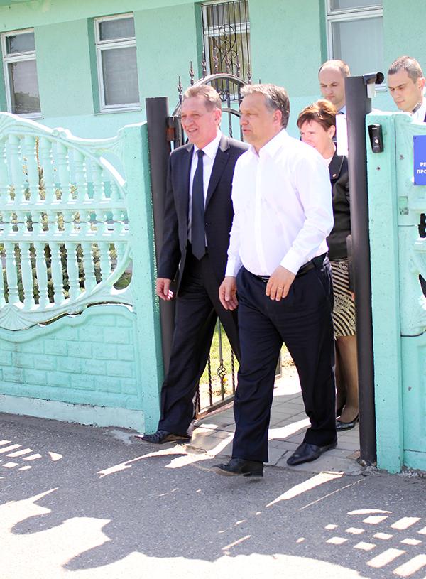 Подробиці поїздки угорського прем'єра Віктора Орбана на Закарпаття.