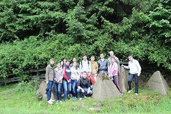 Ужгородські студенти відвідали лінію Арпада