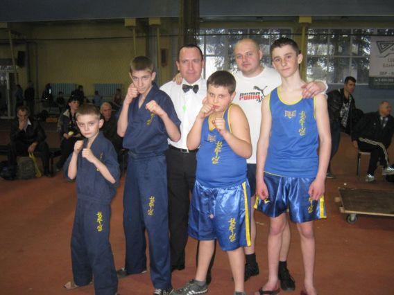 Закарпатські хортингисти завоювали медалі у Донецьку
