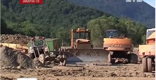 Громадськість Закарпаття бореться з будівництвом міні-ГЕС