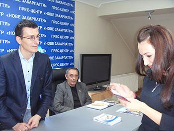 Кращі студенти УжНУ стали членами Національної спілки журналістів України