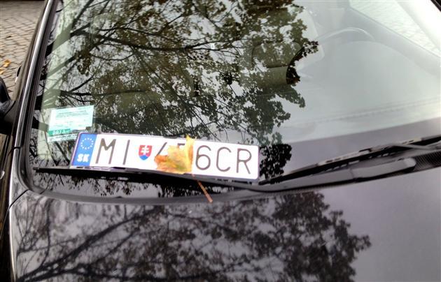 """У закарпатських власників авто на """"словацьких"""" номерах виникли проблеми"""