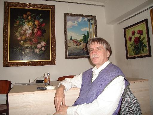У Закарпатському обласному художньому музеї пройде виставка робіт Сергія Глущука