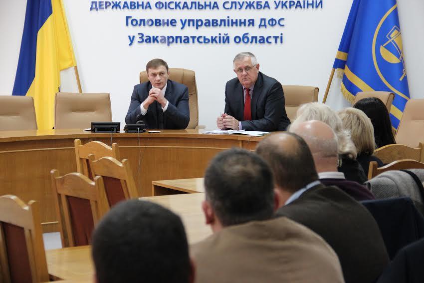 Формувати податкову систему, яка б працювала на благо кожного українця пропонує головний міндоходівець Закарпаття