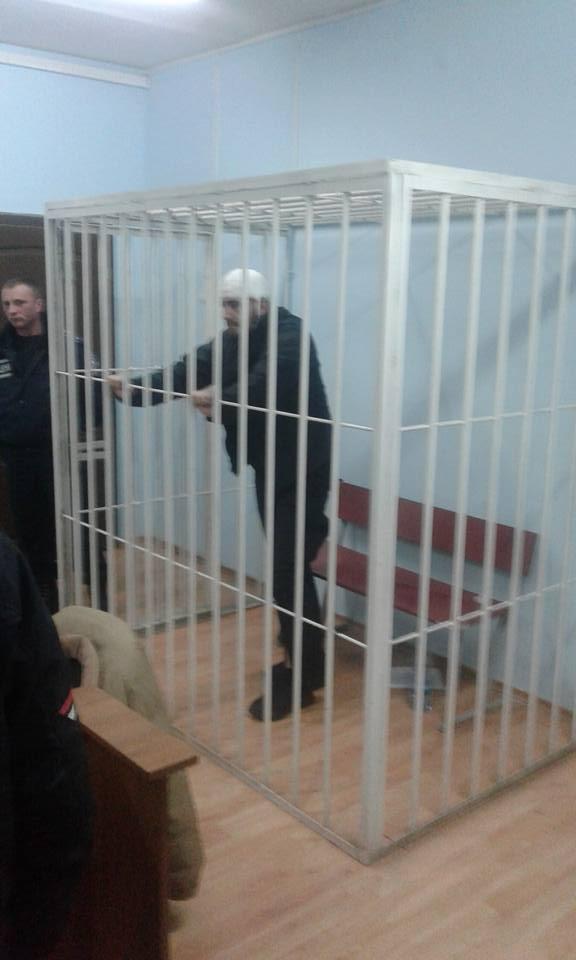 Ужгородський суд взяв під варту другого бійця ДУКу (ФОТО)