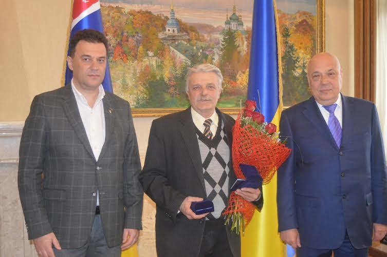 На своє 65-річчя Василь Густі одержав найвищу нагороду Закарпаття