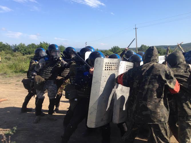 Ужгородський загін тероборони ліквідував сепаратистський заколот (ФОТО, ВІДЕО)