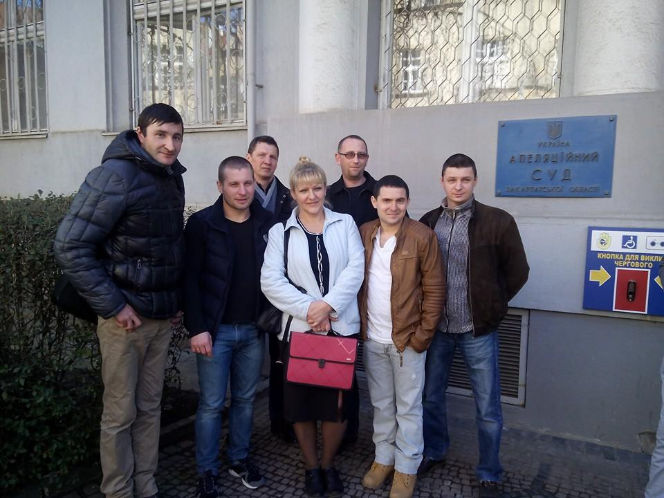 Закарпатські активісти виграли суд у Міністерства юстиції України (ДОКУМЕНТ)