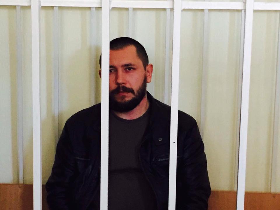 Київський суд по закарпатському націоналісту Олександру Сачку перенесли на завтра (ФОТО)