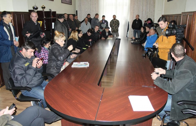 Андрій Балога поспілкувався з протестувальниками з Народної Ради Мукачівщини (ВІДЕО)