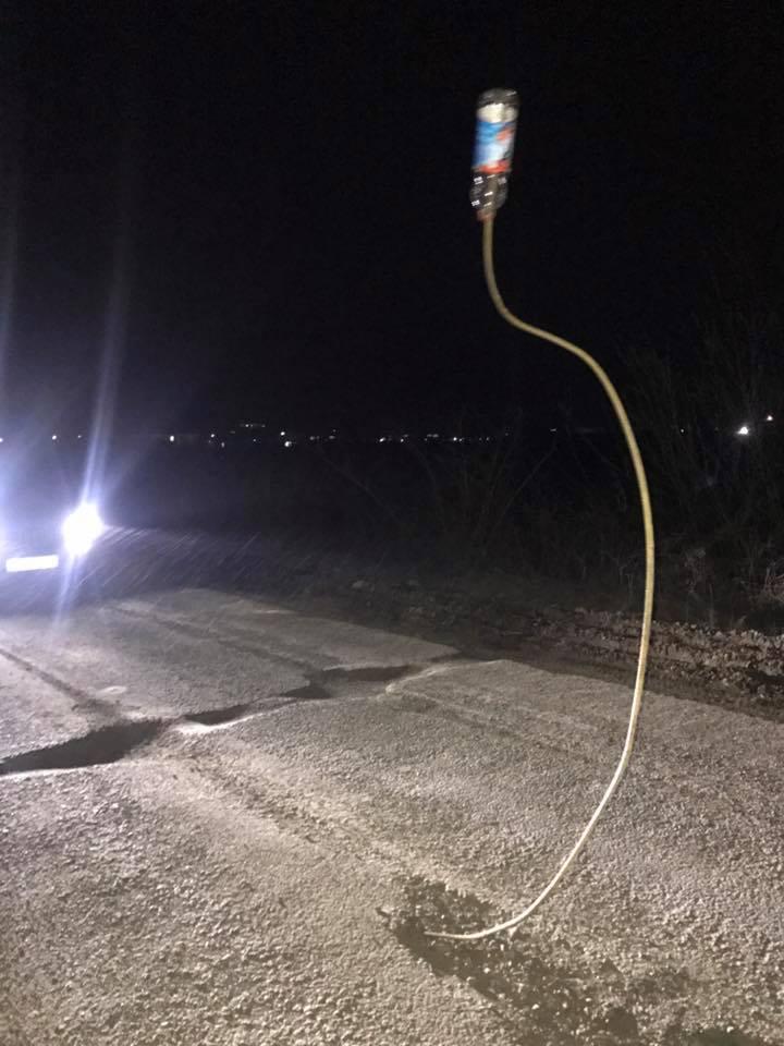 Мукачівських водіїв попереджають про небезпечну пастку на дорозі (ФОТО)