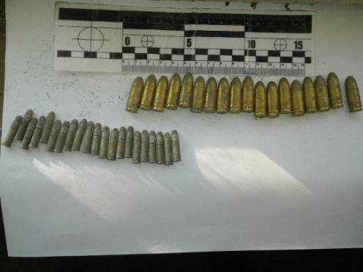 Поліція знайшла боєприпаси в будинку закарпатця