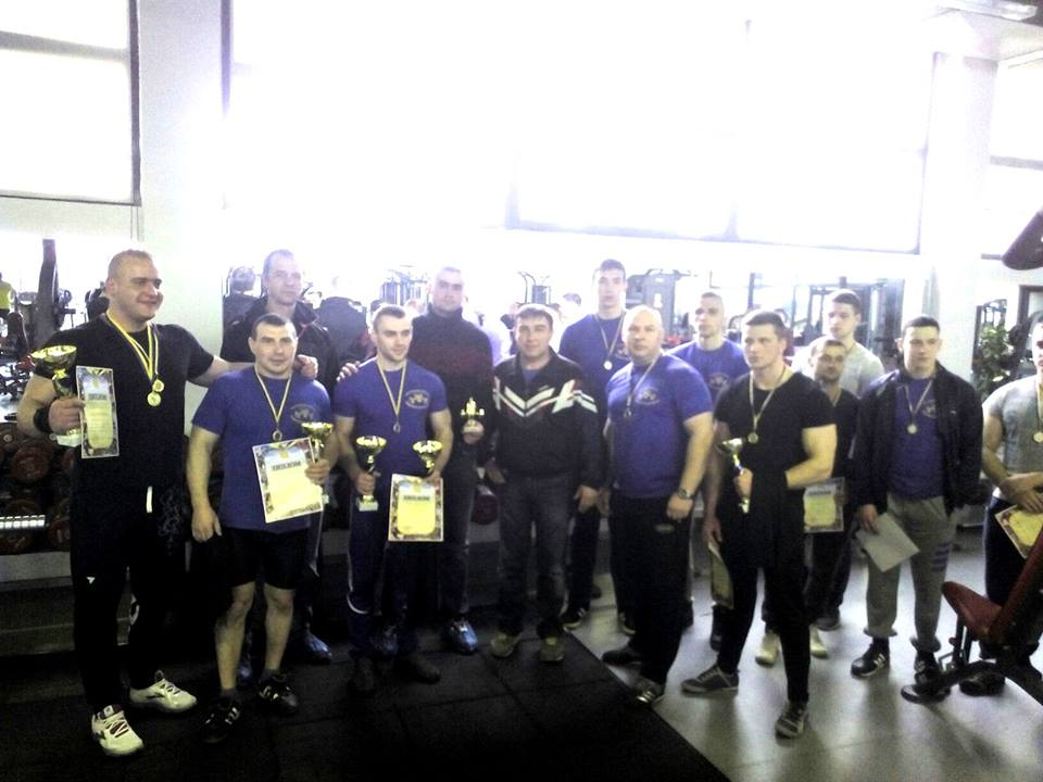 В Ужгороді пройшов чемпіонат з пауерліфтингу на честь Карпатської України (ФОТО)