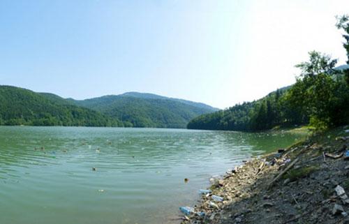 На Закарпатті вичистять Вільшанське водосховище