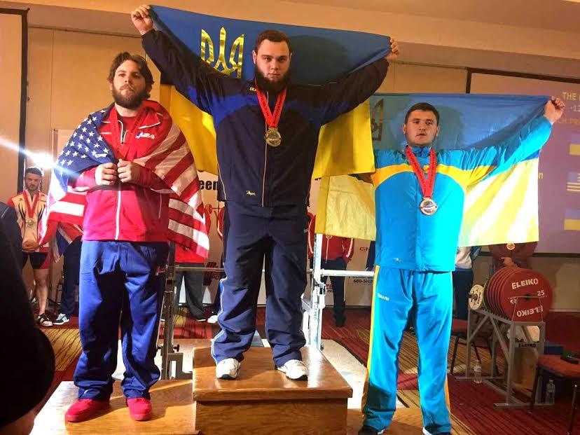 Закарпатський пауерліфтер став чемпіоном світу