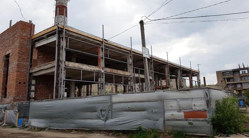 В Ужгороді застопорилося будівництво реабілітаційного центру для інвалідів