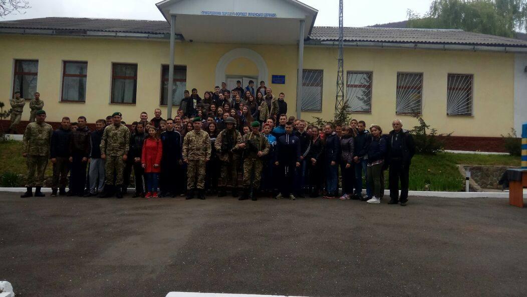 Учнів Перечинського району навчали азам прикордонної служби