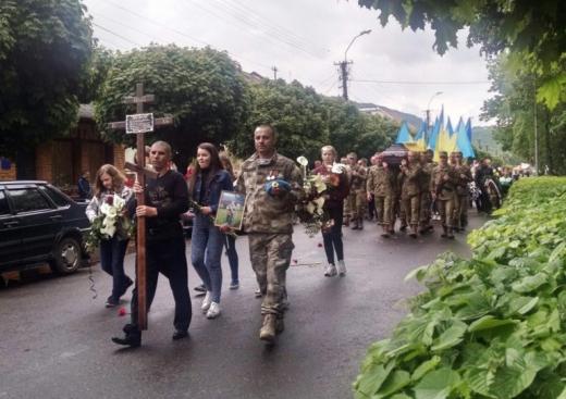 У Виноградові поховали героя АТО Віктора Афанасьєва