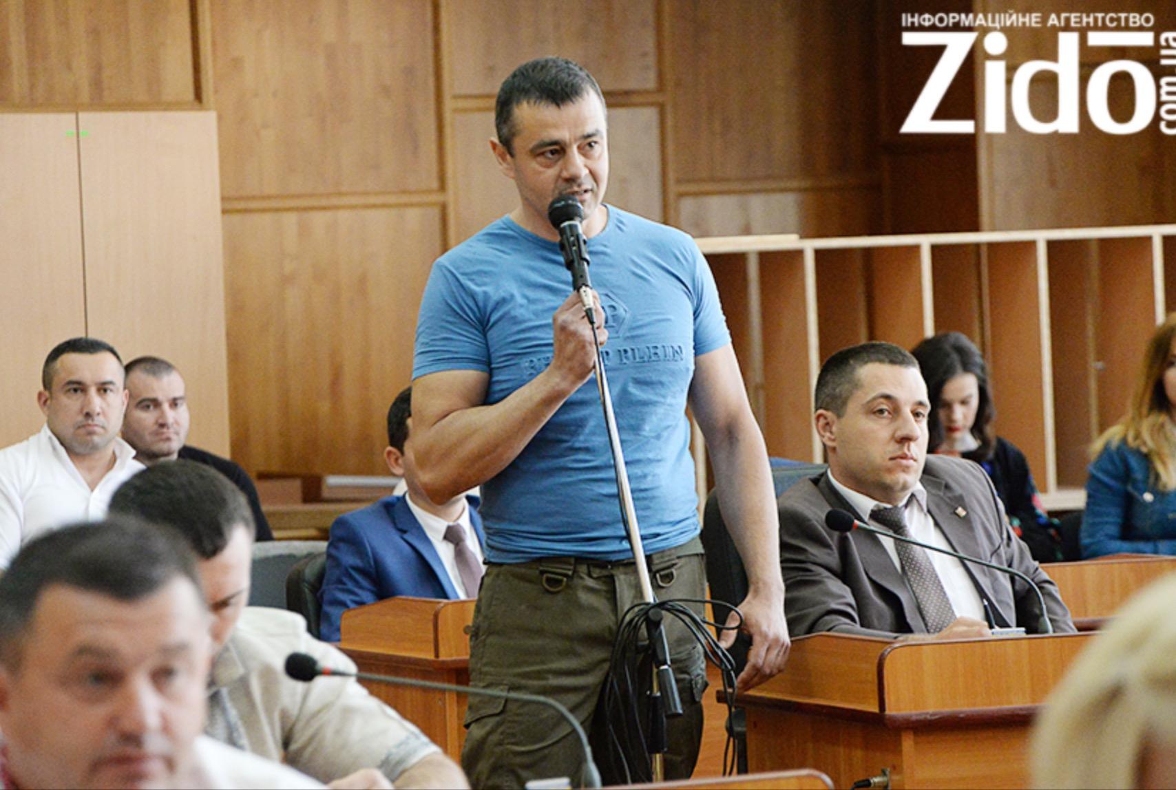 На сесії Ужгородської міськради озвучили питання відставки заступника мера Цапа