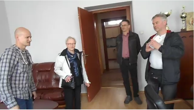 Громадяни Фінляндії були вражені приміщенням Закарпатської ОДА (відео)