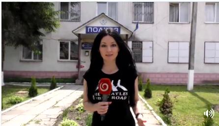 Словацьке телебачення показало інцидент на Закарпатті за участі поліцейського Словаччини (відео)