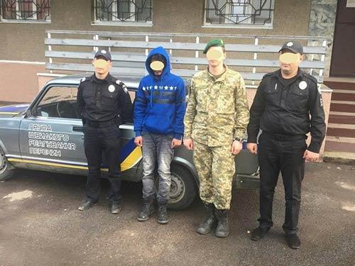 Закарпатські правоохоронці затримали на Перечинщині нелегала з Афганістану