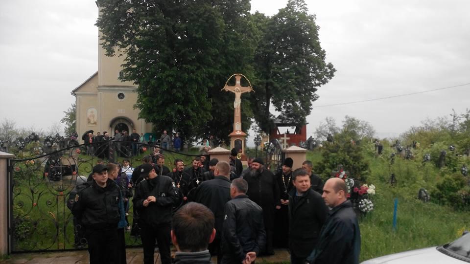 Московський патріархат не допустив греко-католиків Ужгородщини до батьківської церкви (фото)