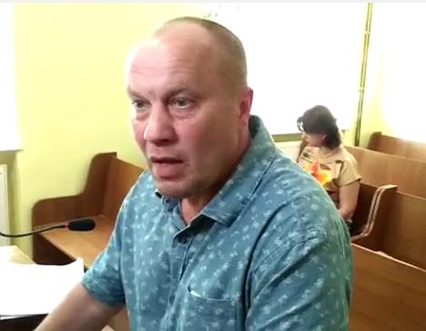 Мер Чопа Валерій Самардак відмовився вносити заставу за своє звільнення (відео)