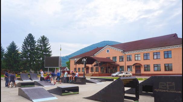 Завтра у Тячеві офіційно відкриють скейт-парк