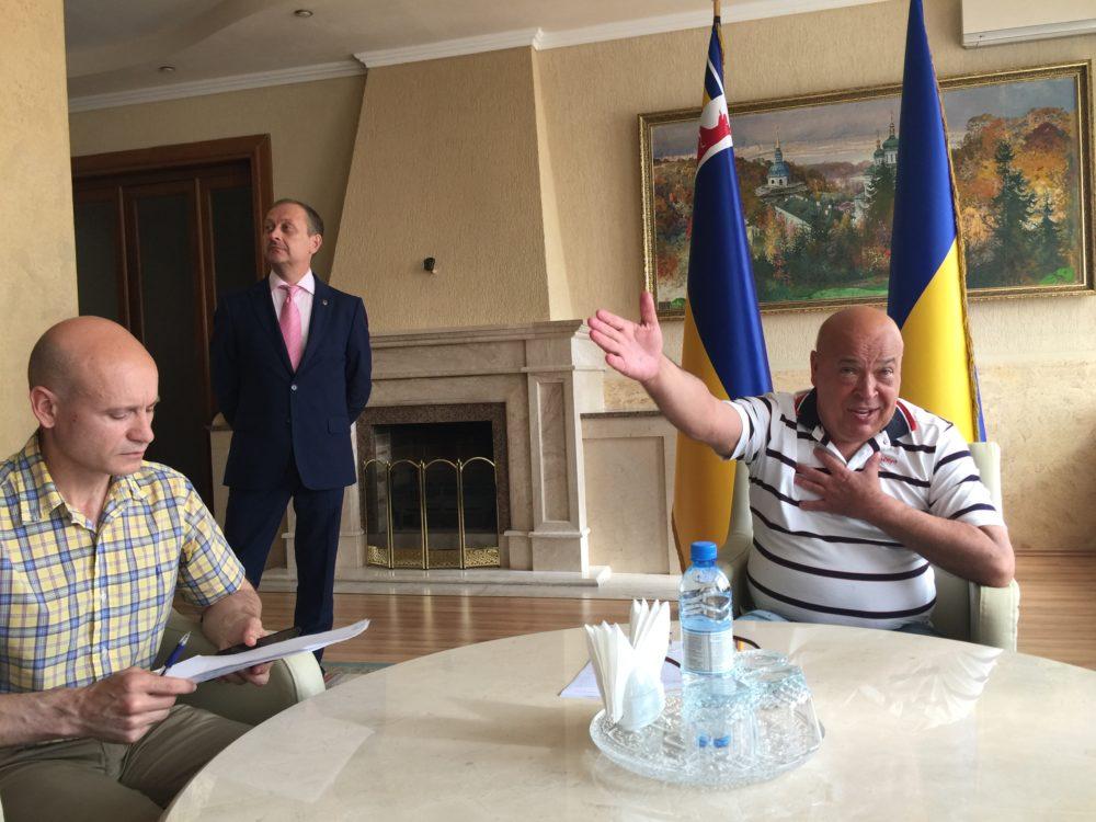 Геннадій Москаль не вважає винуватим заарештованого мера Чопа Самардака (відео,фото)