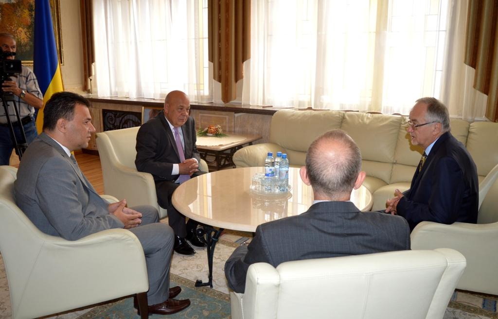 Керівники області прийняли Генерального консула Угорщини в м.Берегово, котрий завершує свою каденцію на Закарпатті (ФОТО)