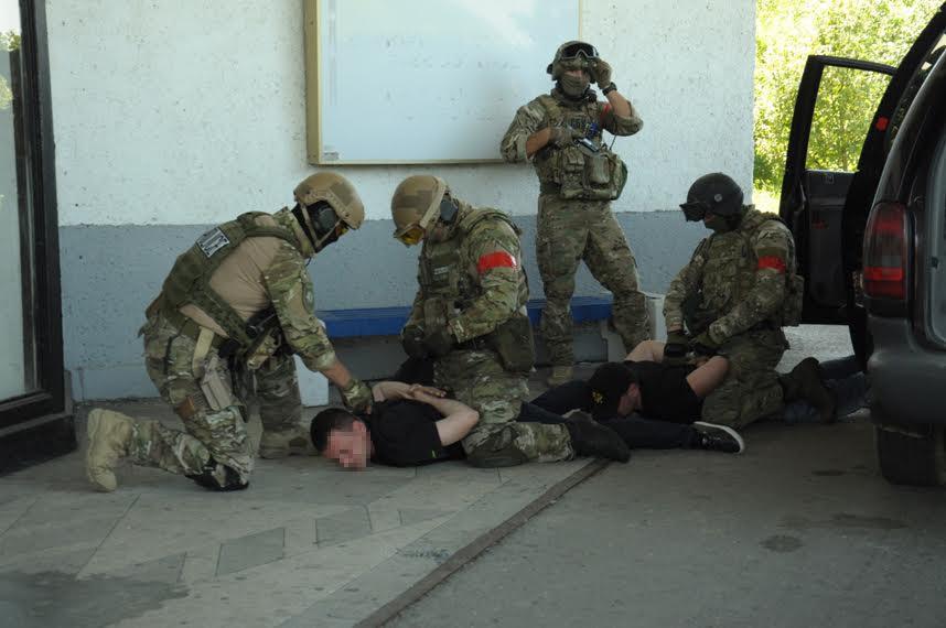 СБУ завершила навчання з антитерору в Ужгороді (фото)