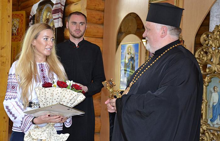 Закарпатка Ірина Галай нагороджена високою церковною нагородою (фото)