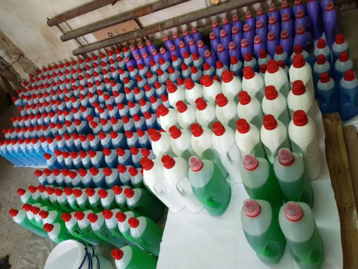 В Ужгороді виявили підпільні цехи з виробництва побутової хімії (ФОТО)