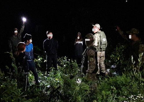 У Чопі затримано чотирьох нелегалів з В'єтнаму