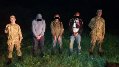 """Закарпатські прикордонники затримали чотирьох нелегальних """"мандрівників"""""""