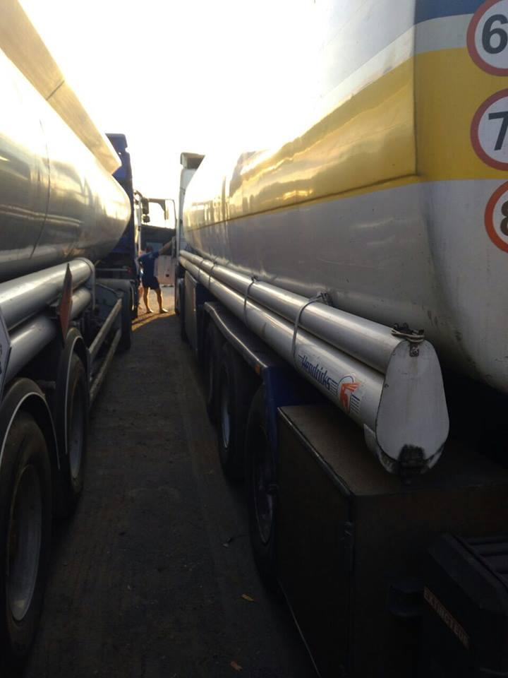 На Закарпатті затримано дві вантажівки з майже 50 тоннами незаконно виготовленого дизеля (фото)