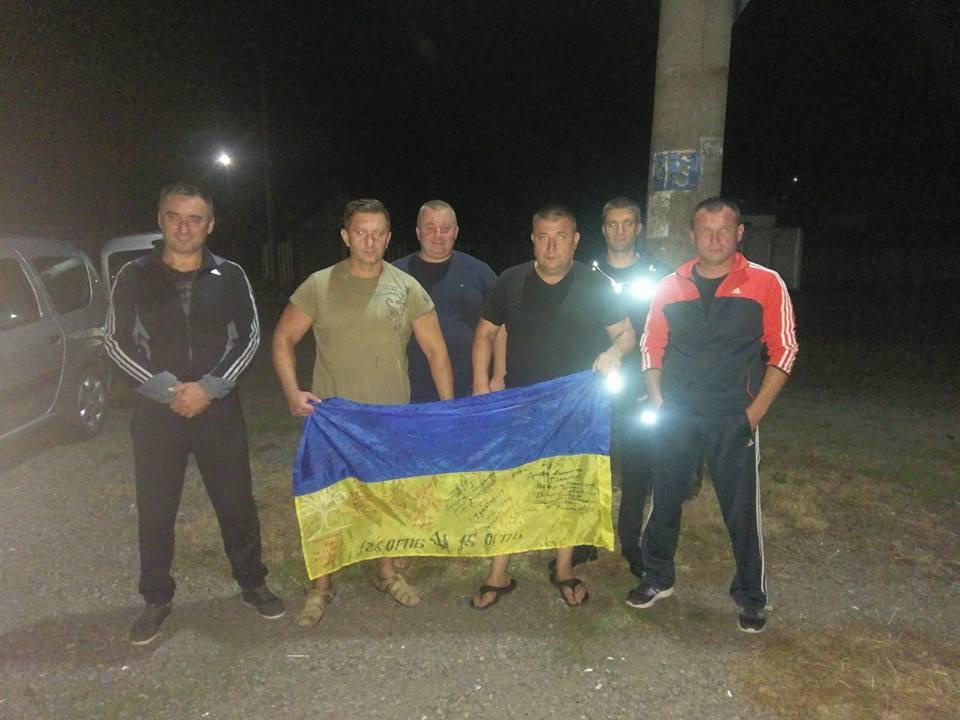 У Великому Березному зустріли воїнів 15-го батальйону (фото)