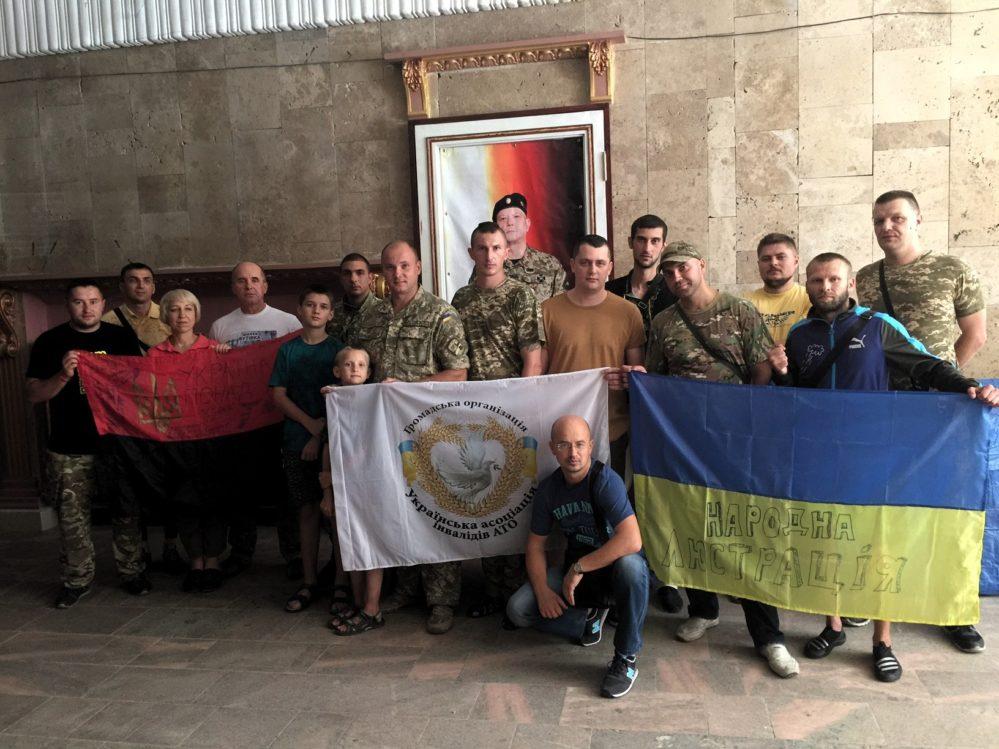 В У жгороді нагородили воїнів 15-го батальйону (фото)
